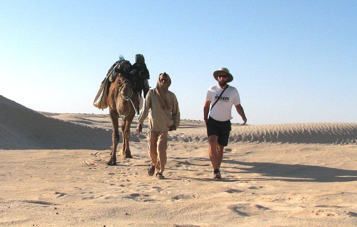 From Croatia to Sahara on foot