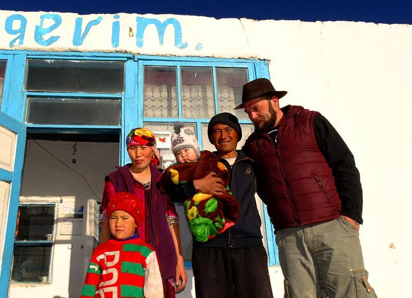 The Pamirs, Northeast of Tajikistan